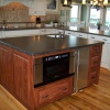 GlazedThermofoil w/Cherry Island & Crown - Built for Soundpoint Construction